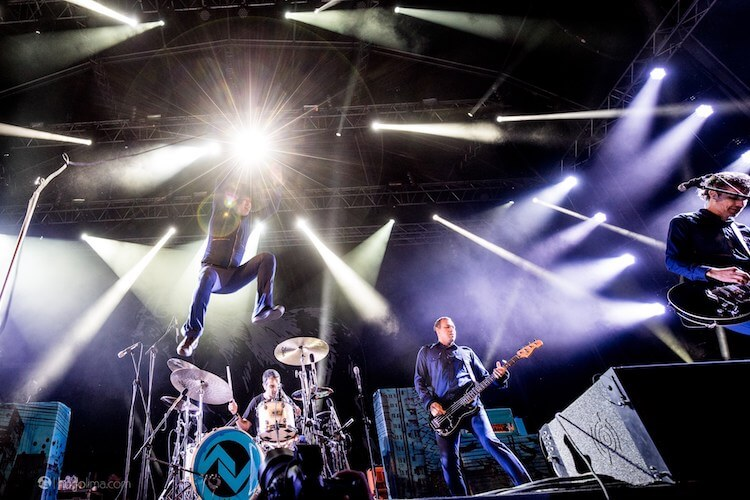 At the drive-in - Paredes De Coura 2017