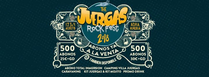 The Juergas Rock Festival 2018