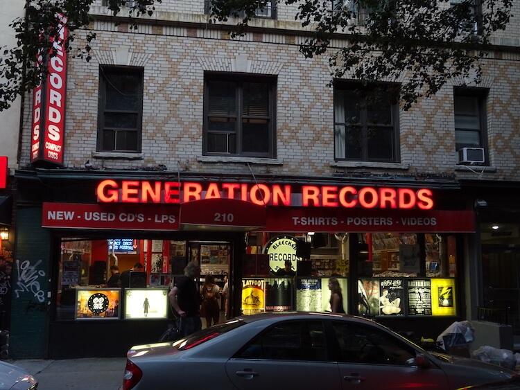 Generation Records - Nueva York