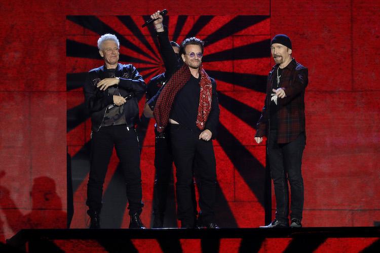 MTV EMAs 2017 - U2