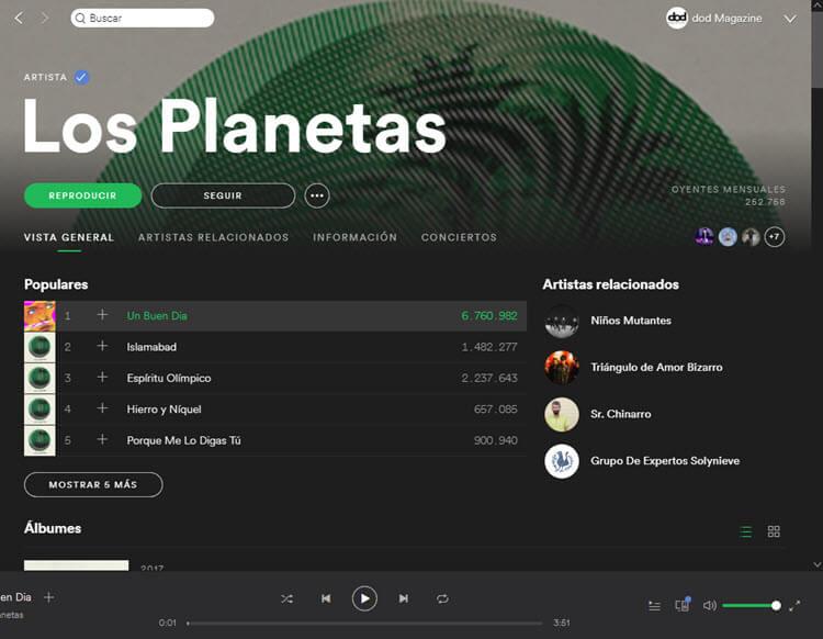 Los Planetas - Spotify