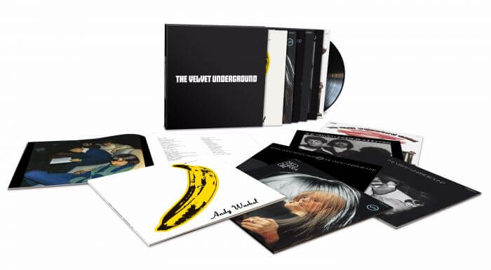 The Velvet Underground – 50th Anniversary Stereo LPs Vinyl Box