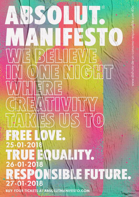 Absolut Manifesto en Madrid