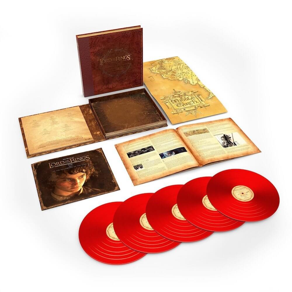 Banda sonora de Señor de los anillos - Vinilo