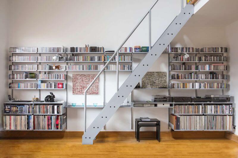 Estanterías para discos de vinilo
