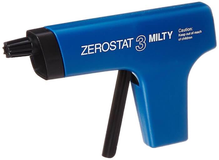 Pistola anti-electricidad estática para discos de vinilo
