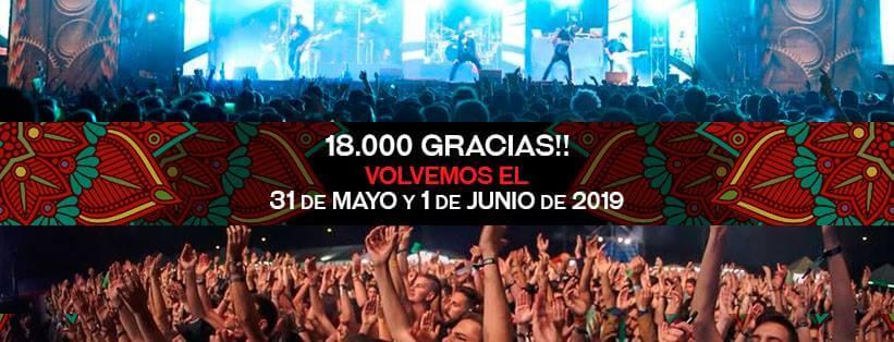 BULL MUSIC FESTIVAL GRANADA 2019