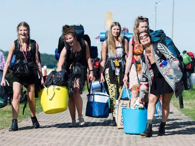 Cosas que deberías llevar a un festival