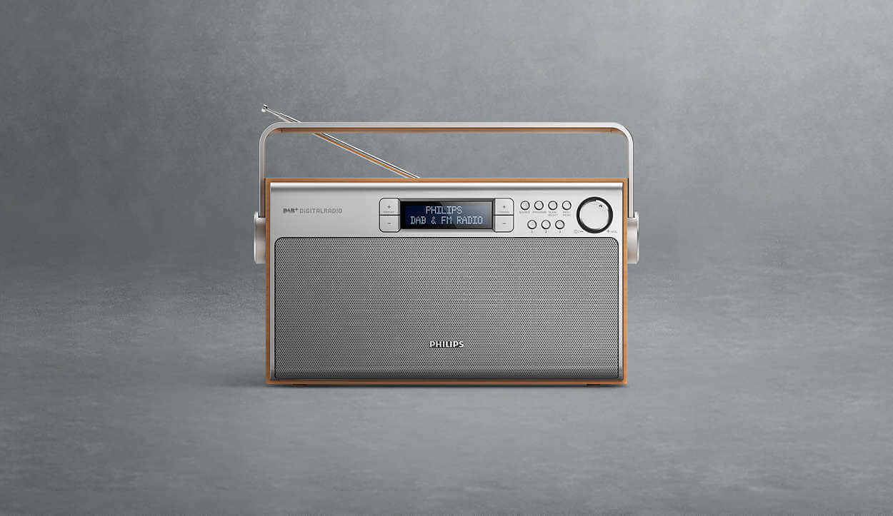 Philips AE5220 Portable Radio - Radio digital DAB