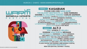 Horarios del Warm Up Festival 2018