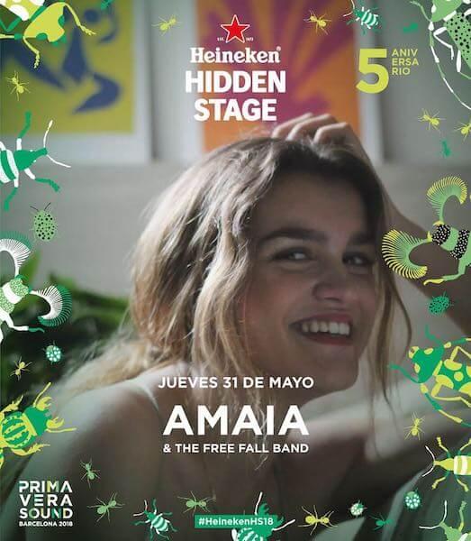 Amaia - Primavera Sound 2018