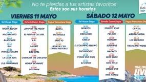 Horarios del Mallorca Live Festival 2018