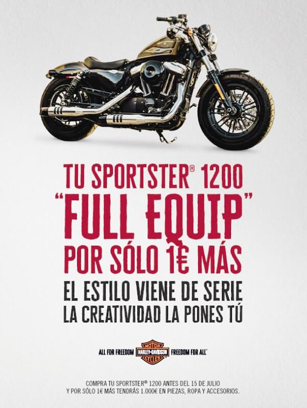 Harley-Davidson Sporter 1200 - Full Equip