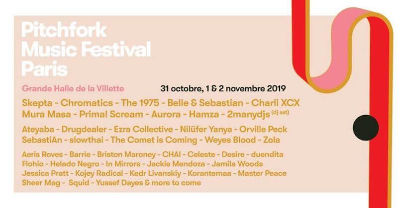 Pitchfork Music Festival París 2019