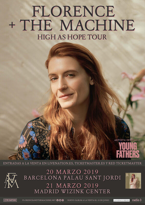 Florence and the Machine 2019 - Madrid y Barcelona