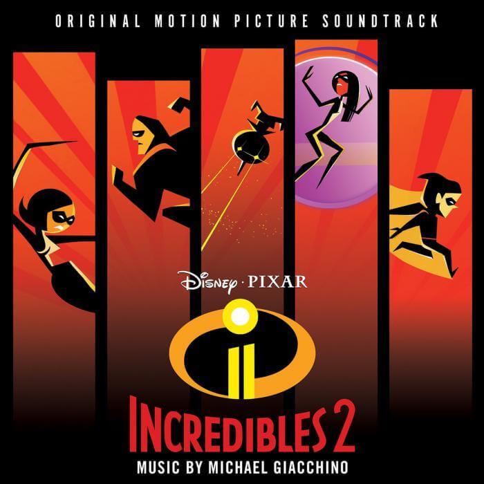 Increíbles 2 - Banda Sonora