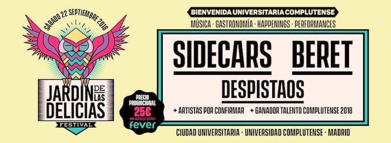 Festival El Jardín de las Delicias 2018
