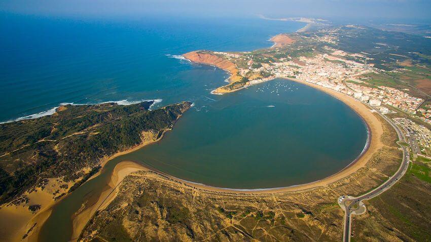 Playa São Martinho do Porto