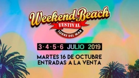 Weekend Beach 2019 desvela su cartel por días