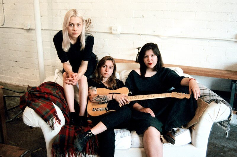 boygenius - Julien Baker, Phoebe Bridgers y Lucy Dacus