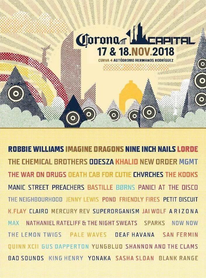 Capital Corona 2018 - Line Up