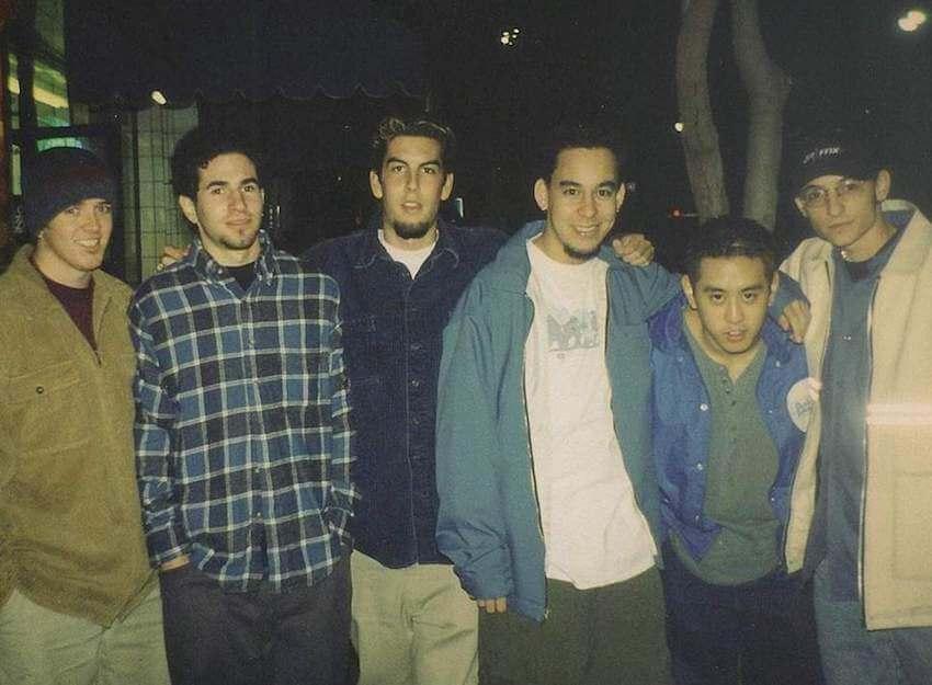 Linkin Park jóvenes