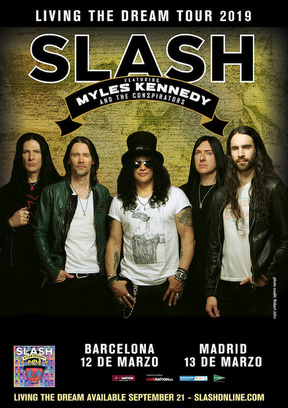 SLASH FT MYLES KENNEDY & THE CONSPIRATORS