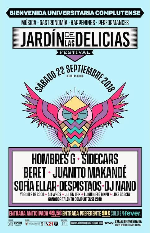 El festival Jardín de las Delicias
