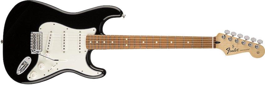 Guitarra eléctrica Fender Standard Stratocaster PF BLK
