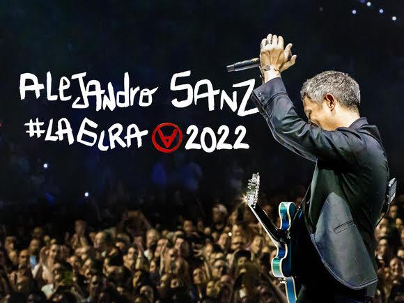 Conciertos de Alejandro Sanz en 2022