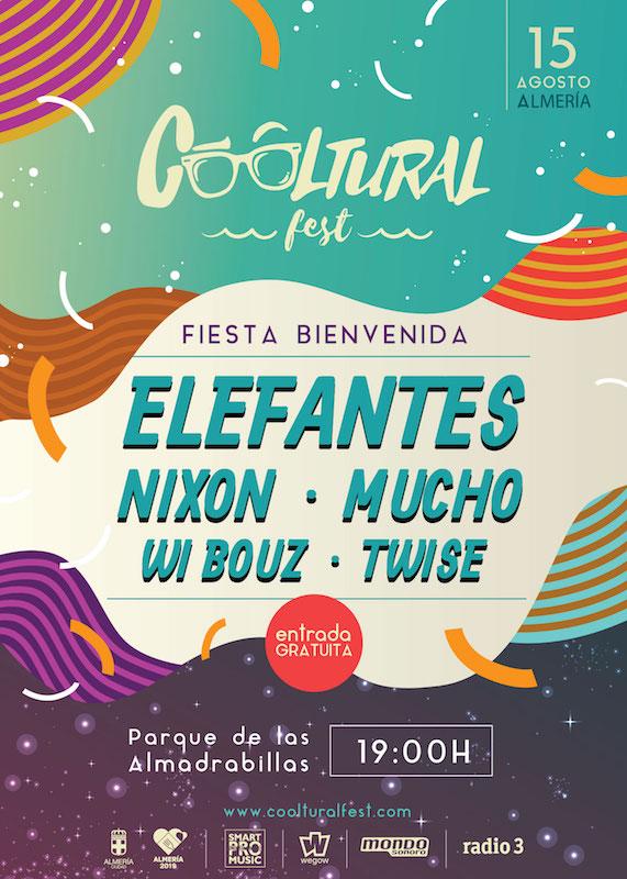 CoolturalFest 2019 - Fiesta bienvenida