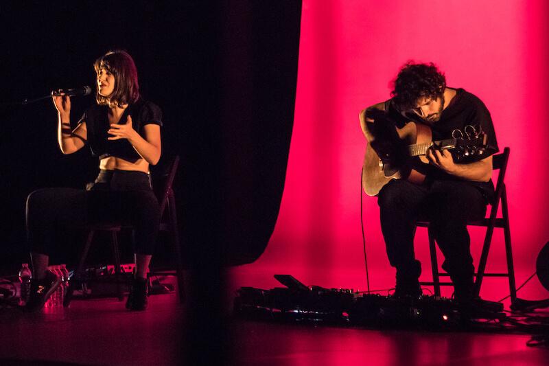 Maria Arnal i Marcel Bagés en Tomavistas Ciudad 2018