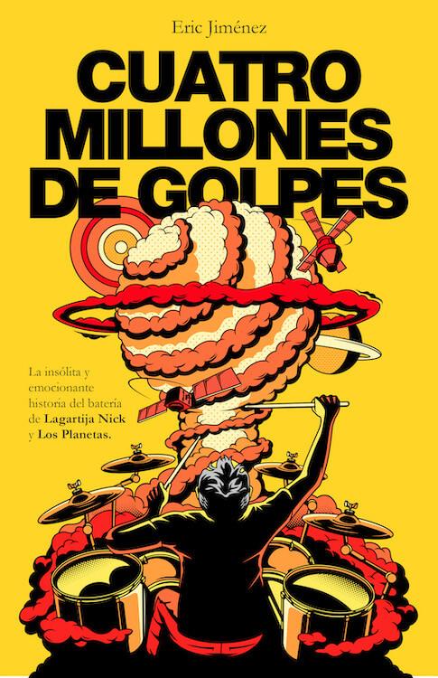 Libro 'Cuatro millones de golpes(Éric Jiménez)'