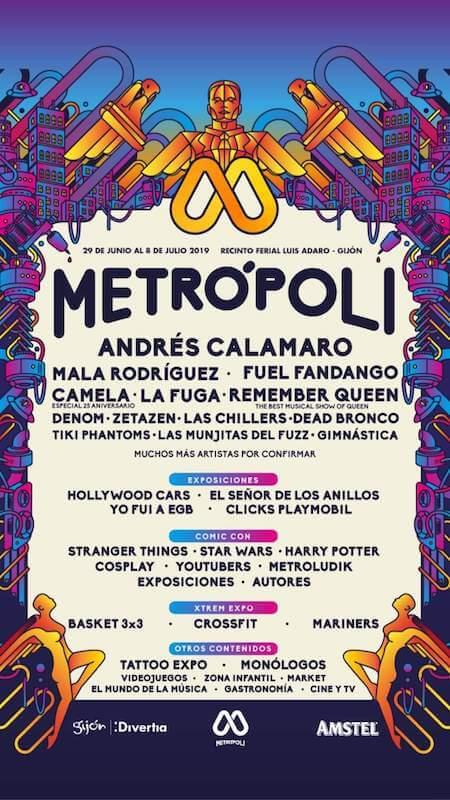 Cartel Metrópoli Gijón 2019