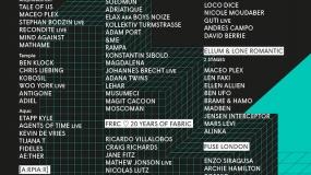 Off Week Festival 2019 de Barcelona anuncia su cartel al completo