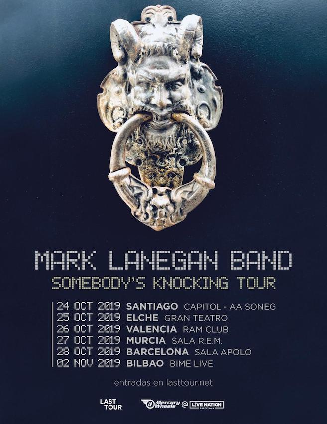 Conciertos de Mark Lanegan en 2019
