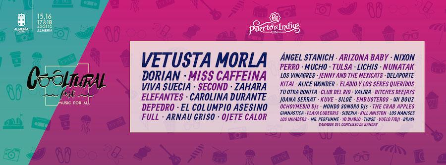 Cartel del Cooltural Fest 2019