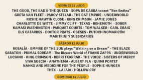 Horarios del Doctor Music Festival 2019