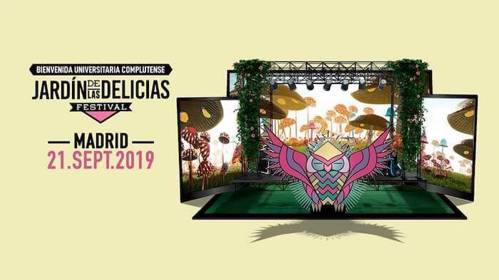 Festival El Jardín de las Delicias 2019