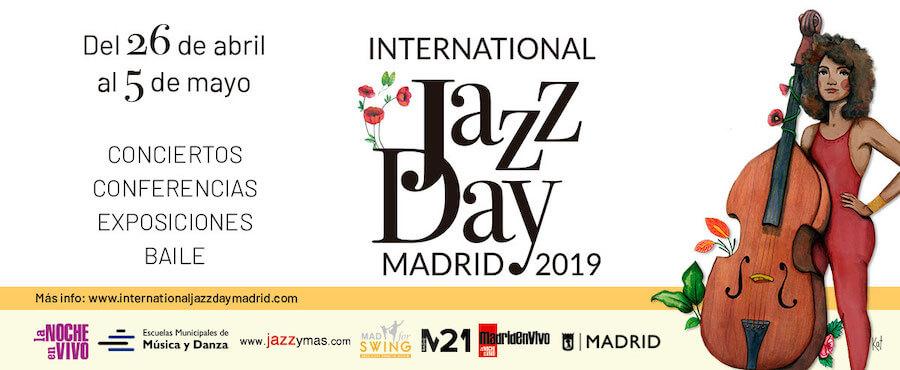Conciertos del International Jazz Day Madrid 2019