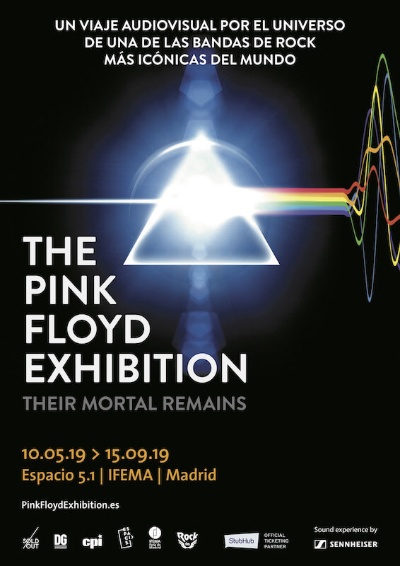 Exposición The Pink Floyd: Their Mortal Remains - Madrid
