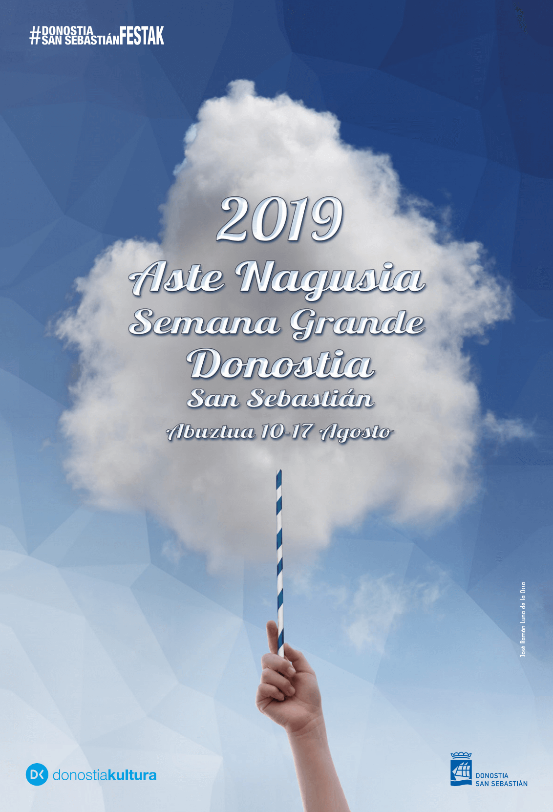 Cartel Aste Nagusia 2019 Donostia