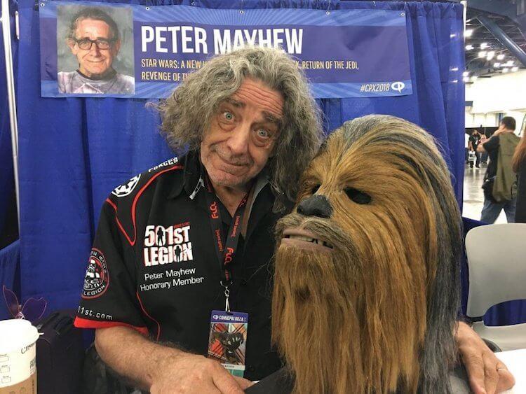 Peter Mayhew - Chewbacca