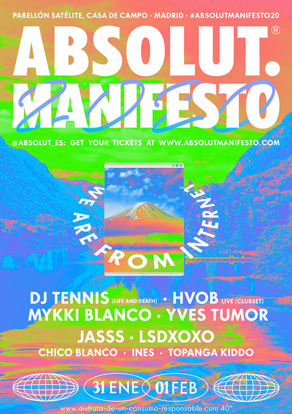 Absolut Manifesto 2020 en Madrid