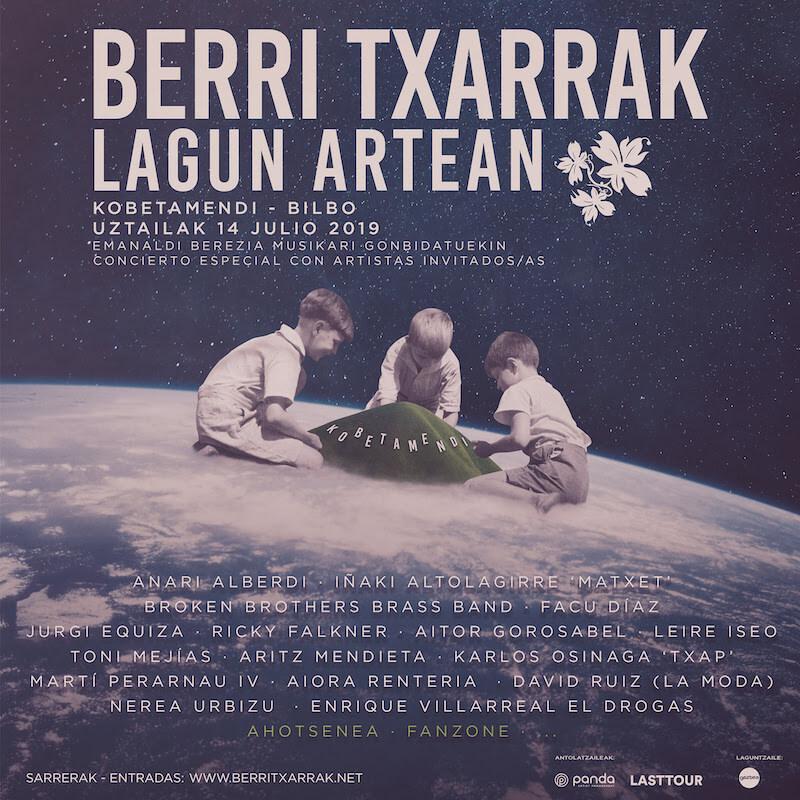 Programa Berri Txarrak - Concierto Kobetamendi 2019