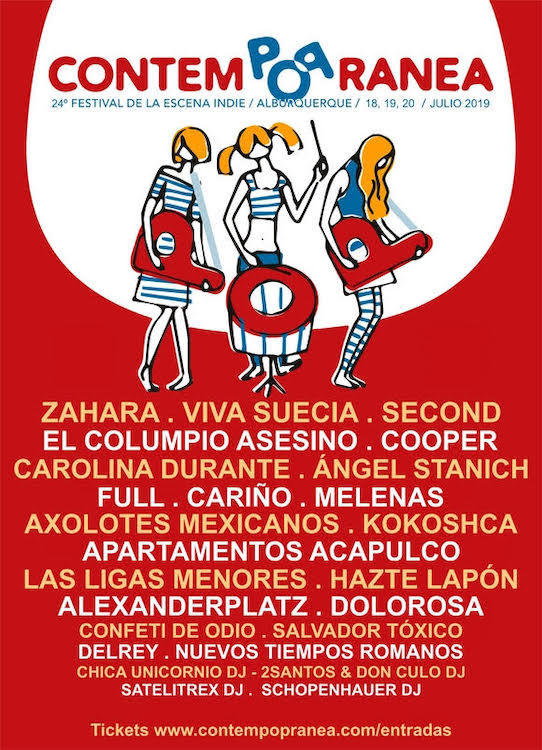 Cartel Contempopranea 2019