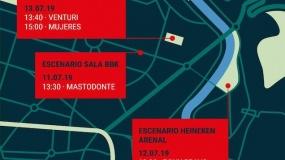 Bilbao BBK Live 2019 desvela los horarios de sus conciertos gratuitos