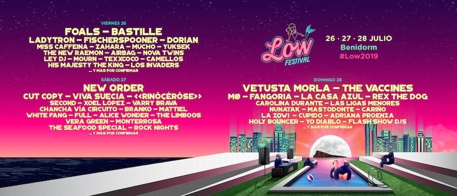 Low Festival 2019 - Cartel