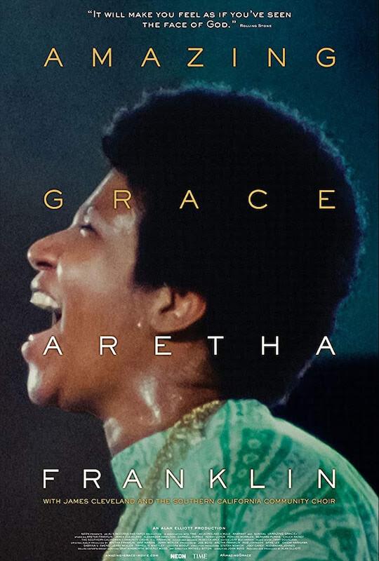Amazing Grace - Película de Aretha Franklyn