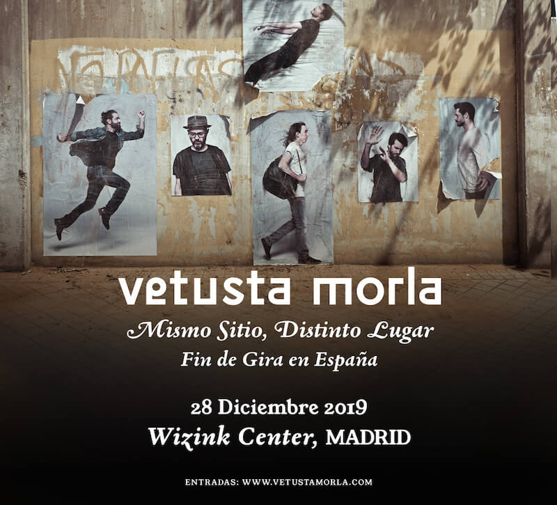 Concierto Vetusta Morla Madrid 2019 - Wizink Center